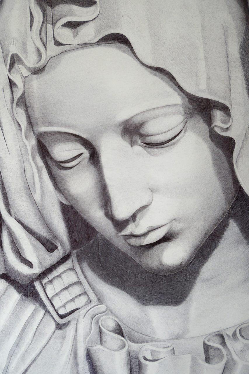 Pieta close up